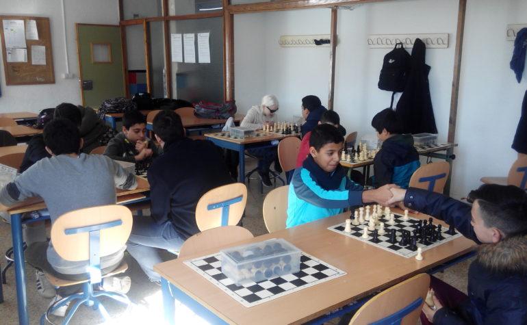 1er Campeonato de Ajedrez del IES Cartuja.